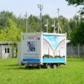 Mobile environmental analyses lab (photo Andrzej Bigos, NCBJ)