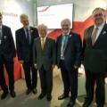 Polska delegacja z Dyrektorem Generalnym MAEA Yukiya Amano, fot.PAA