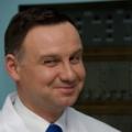 Prezydent RP Andrzej Duda w NCBJ — fot. Marcin Jakubowski, NCBJ
