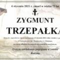 Zmarł Zygmunt Trzepałka