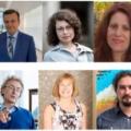 Wykładowcy Szkoły Zimowej RadFarm 2021, w kolejności: Amirreza Jalilian (MAEA, Wiedeń), Barbara Klajnert-Maculewicz (Uniwersytet Łódzki), Penelope Bouzioti (Demokritos, Ateny), Roger Alberto (Uniwersytet w Zurichu), Silvia Jurisson (Uniwersytet Missouri) i Valery Radchenko (TRIUMF, Vancouver)