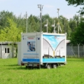Mobile environmental analyses lab (photo Andrzej Bigos, NCBJ)