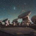 radioteleskopy należące do zespołu największego na świecie interferometru radiowego Atacama Large Millimeter/submillimeter Array (ALMA)