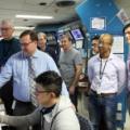 Grupa badaczy przy eksperymencie akceleratorowej produkcji molibdenu 99 (foto: Canadian Light Source)