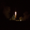 Liftoff of a rocket with POLAR detector on board (foto Dominik Rybka / NCBJ)