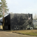 Modern building with shielded bunkers for Accelerating Structures Lab