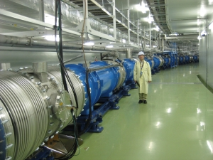 Accelerator located at the J-PARC facility in Tokai, Japan, which is used to produce neutrino beam in the T2K experiment.