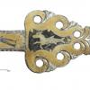 Fragment bogato ornamentowanej uprzęży końskiej