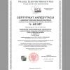 Akredytacja laboratorium badawczego AB 567