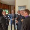 Ambassador of the French Republic and four scientists from NCBJ decorated with Order of the Palm Academies (photo: Embassy of the French Republic in Warsaw)