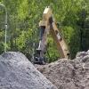 CERAD: przygotowywanie terenu (foto: Marek Pawłowski / NCBJ)