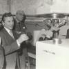 Prof. St. Kuliński przy akceleratorze Lirax-4