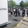 Posłowie przy skanerze SOWA