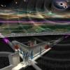 Artist's impression of the underground Einstein Telescope. © NIKHEF