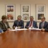 Podpisanie umowy o szkole doktorskiej IChTJ i NCBJi (foto: Marek Pawłowski / NCBJ)