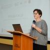 Inauguration of RadFarm studies - presentation by Professor Renata Mikołajczak (foto: Marcin Jakubowski / NCBJ)