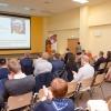 Inauguration of RadFarm studies - presentation by Professor Leszek Królicki (foto: Marcin Jakubowski / NCBJ)
