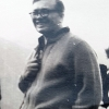 Professor Żelazny on Kasprowy Wierch, during 1st Reactor School in Zakopane in 1965 (family archive)