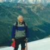 Prof. St. Kuliński w Alpach