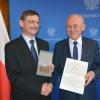 Grzegorz Wrochna and Krzysztof Tchórzewski (foto: Ministry of Energy)