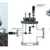Komora UHV i system mocowania układu fotokatoda- kubek Faraday'a