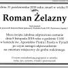 Zmarł prof. Roman Żelazny